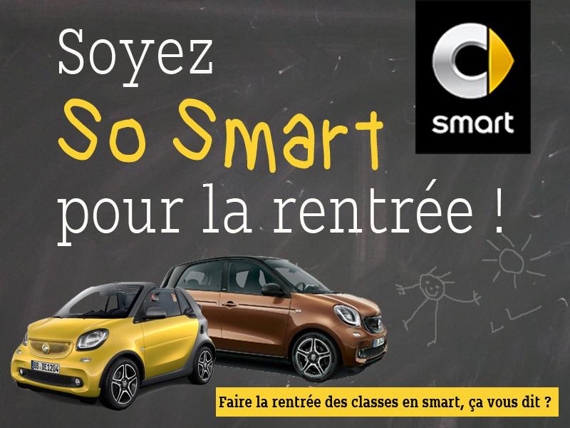 Soyez so smart pour la rentr e for Garage smart la valentine