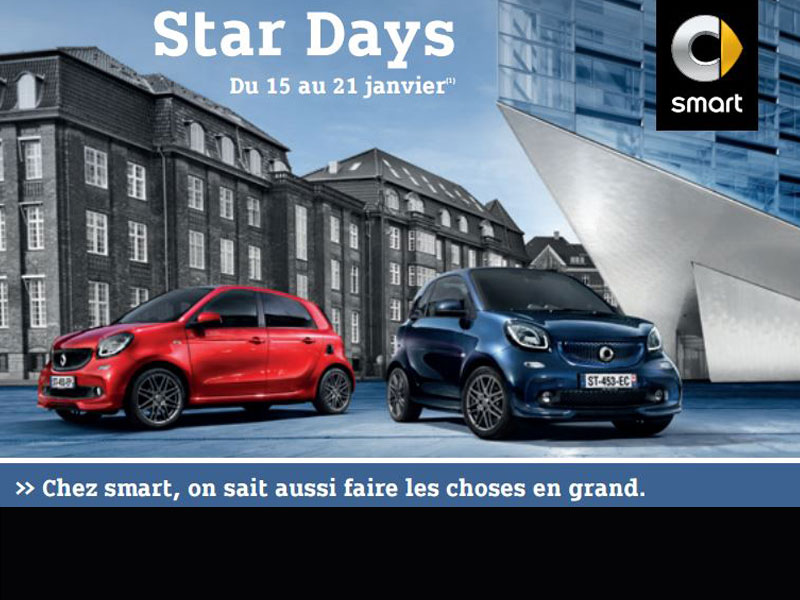Les Star Days smart